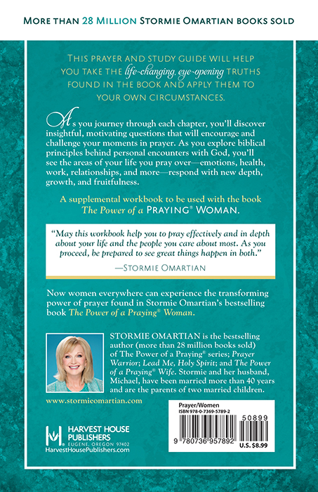 The Power of a Praying® Woman Prayer and Study GuideHarvest House