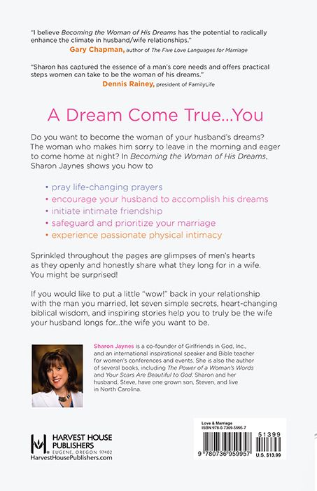 Becoming the Woman of His DreamsHarvest House