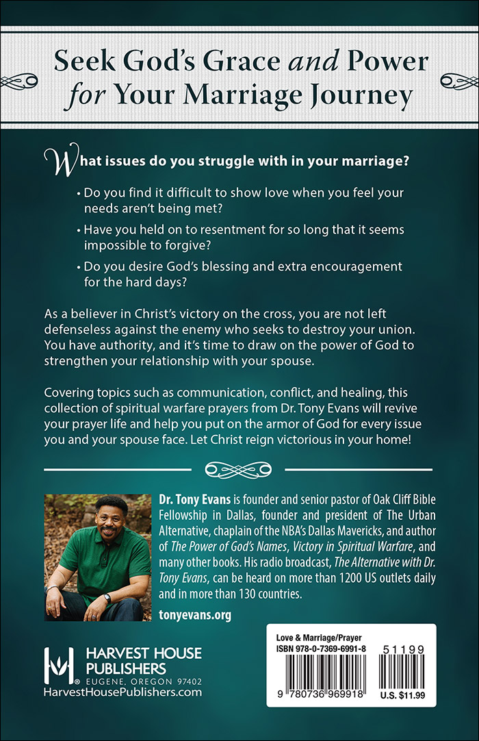 Prayers for Victory in Your MarriageHarvest House