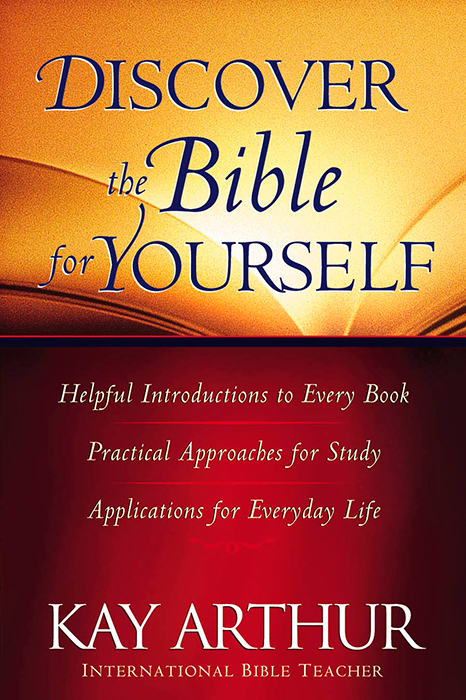 Discover the Bible for YourselfHarvest House