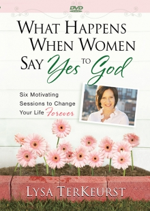 What Happens When Women Say Yes to God DVD